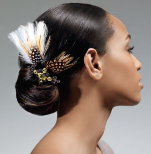 South African Black Wedding Hairstyles